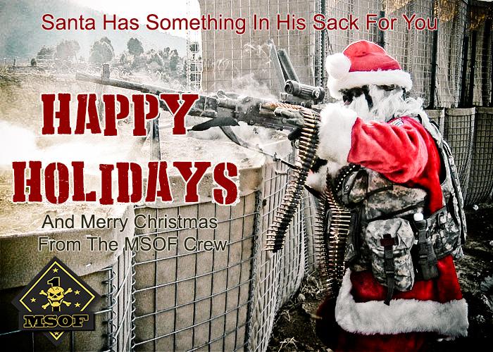 machine gun santa