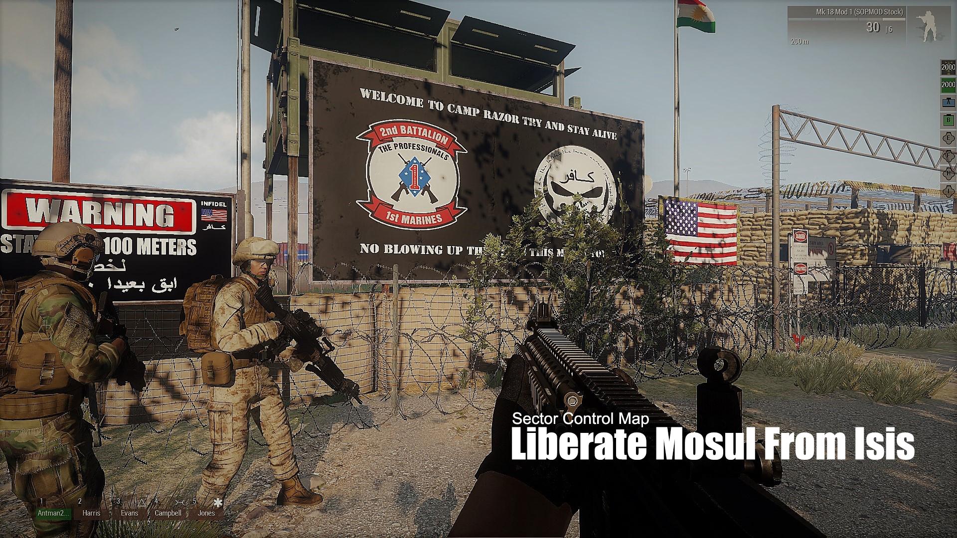MSOF Liberate Mosul