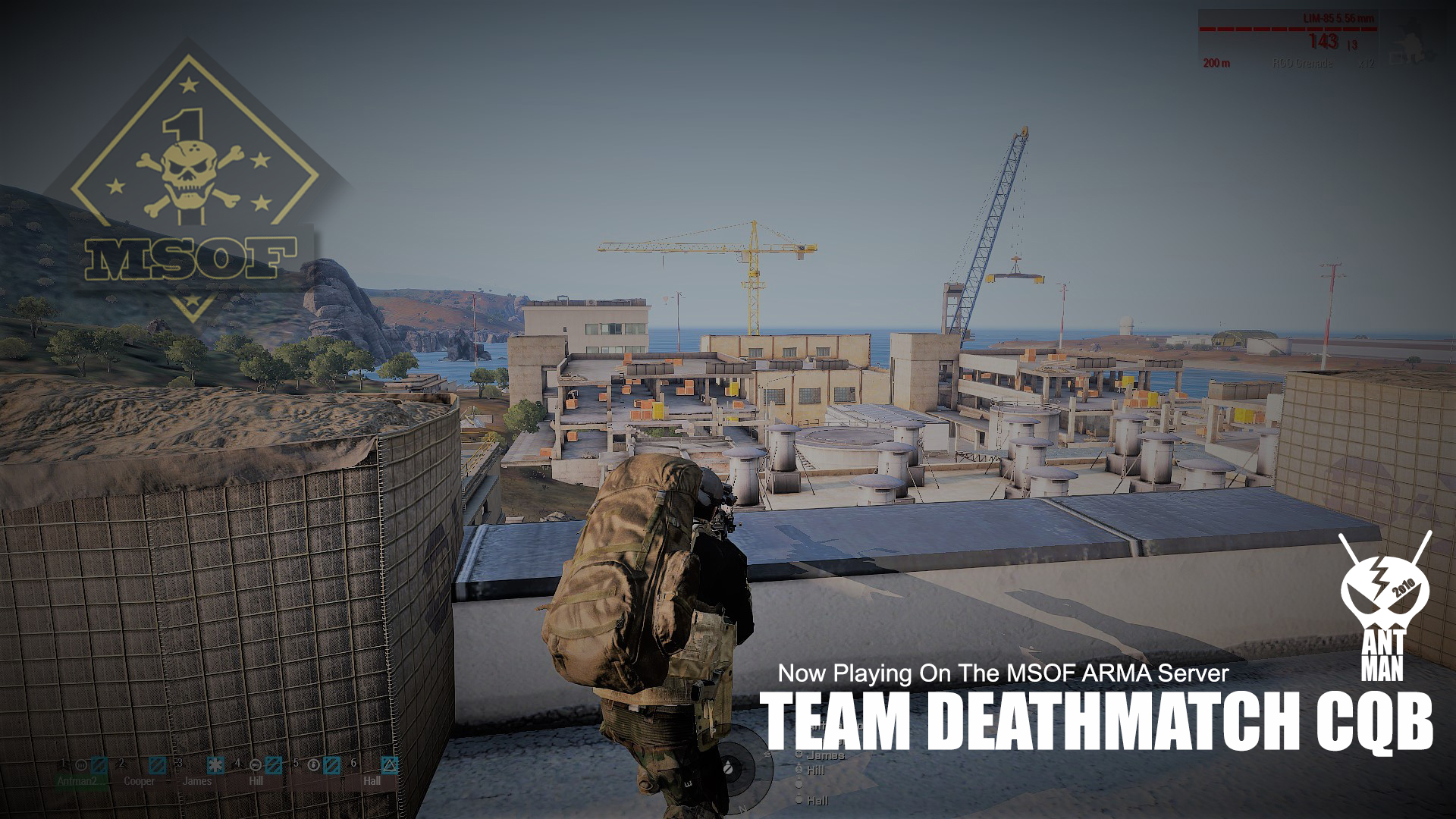 TeamDeath Match CQB